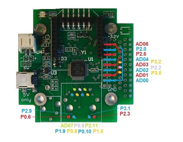 Xb Sensor Pin Diagrams